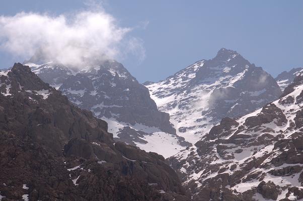 Cordillera Atlas en Marruecos