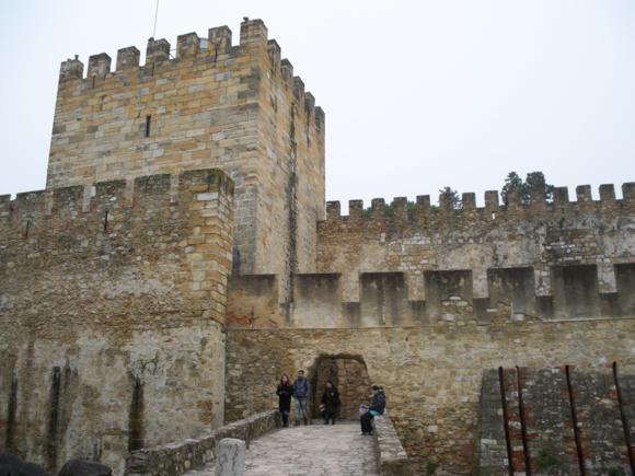 Entrada del Castelo de Sao Jorge
