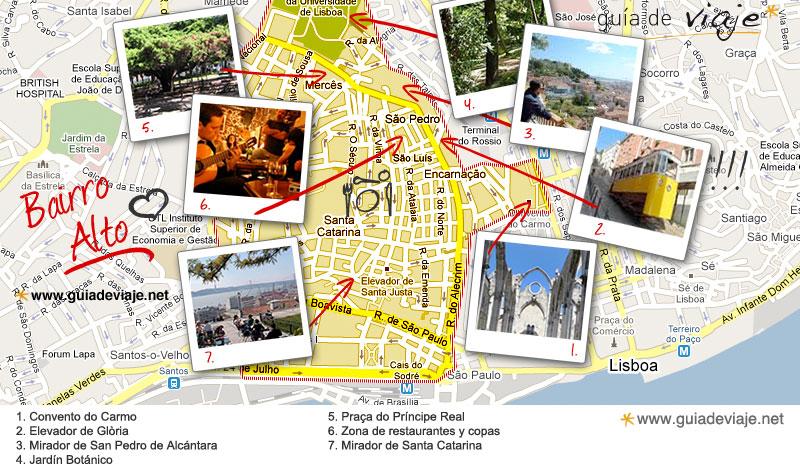 Qué hacer en el Barrio alto de Lisboa