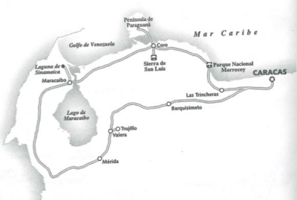 Principales comounicaciones terrestres en el noreste del país.