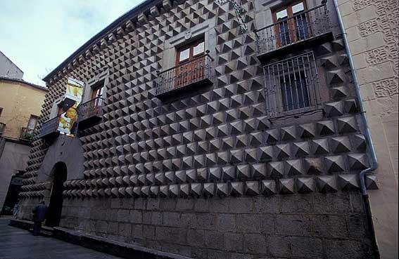 Casa de los Picos, Segovia.