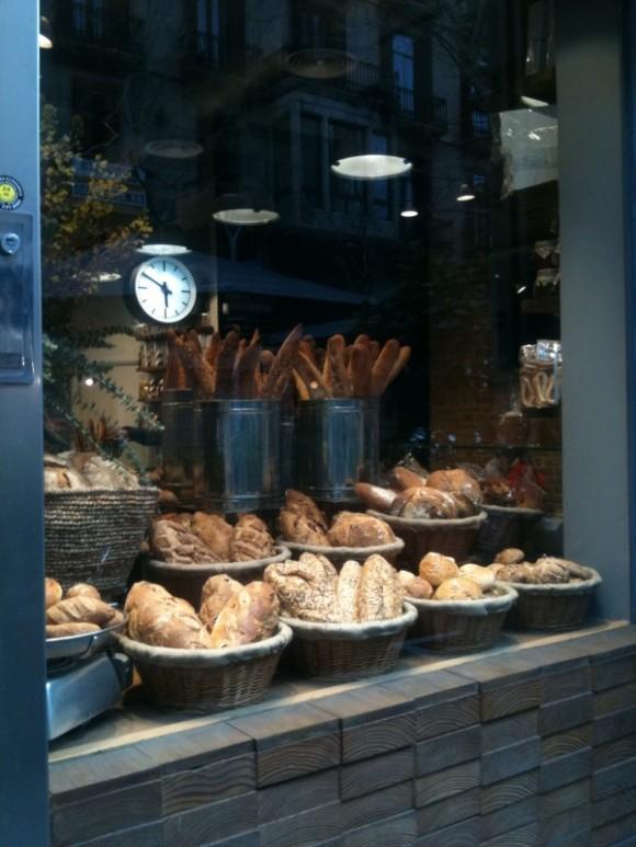 Surtido de panes artesanales.