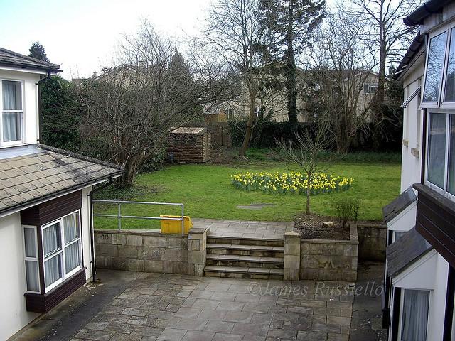 Vista desde la residencia de estudiantes (Foto: James Rustelto)