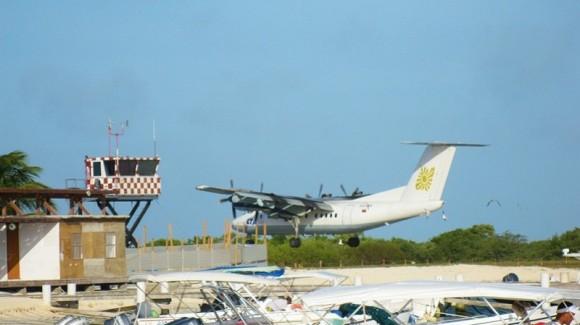 Aviones de la aerolínea Aerotuy.