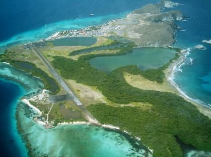 Vista aérea de Gran Roque (Foto: wikipedia)