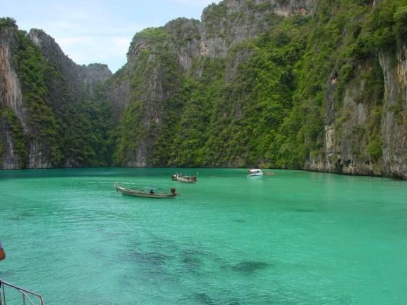 Las fabulosas formaciones de las islas Phi Phi.