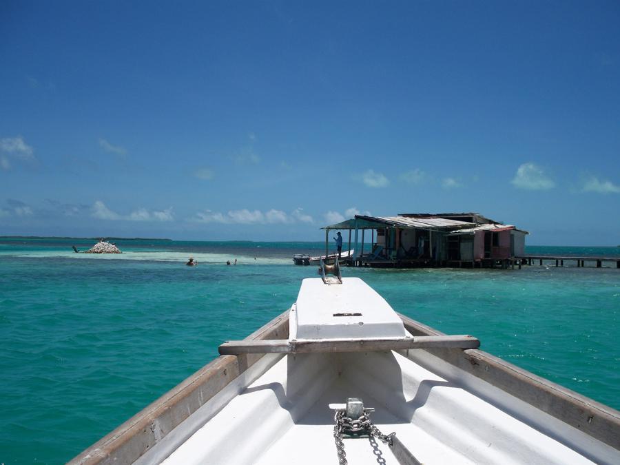 Refugio de pescadores en mitad de la nada.