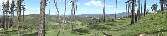 Vistas del campo de golf.