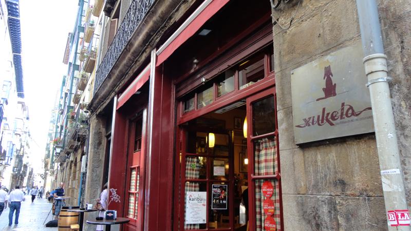 Bar Xukela, Bilbao.