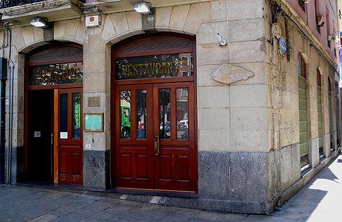 Entrada principal del Restaurante Arandia de Julen.