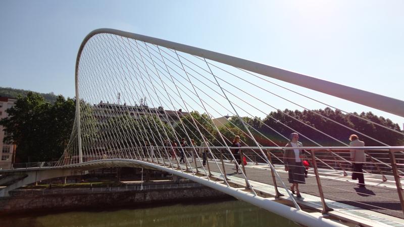 El puente es sin duda espectacular.