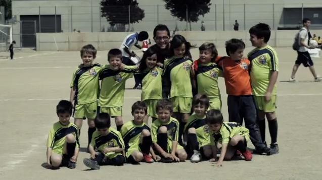 El equipo del Margatània F.C al completo.