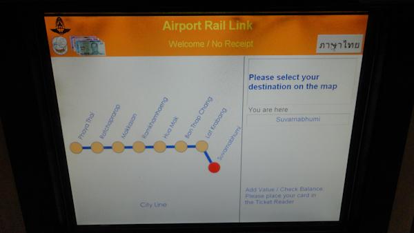 En bangkok todo el transporte público está traducido al inglés.