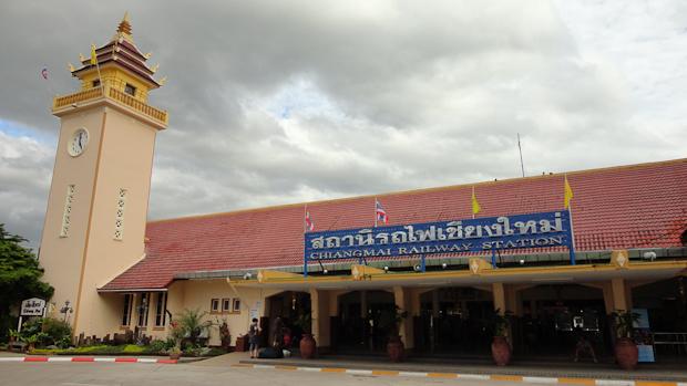 Estación de ferrocarril de Chiang Mai.