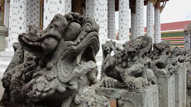 La simbología asiática siempre tiene algo diferente para sorprenderte.
