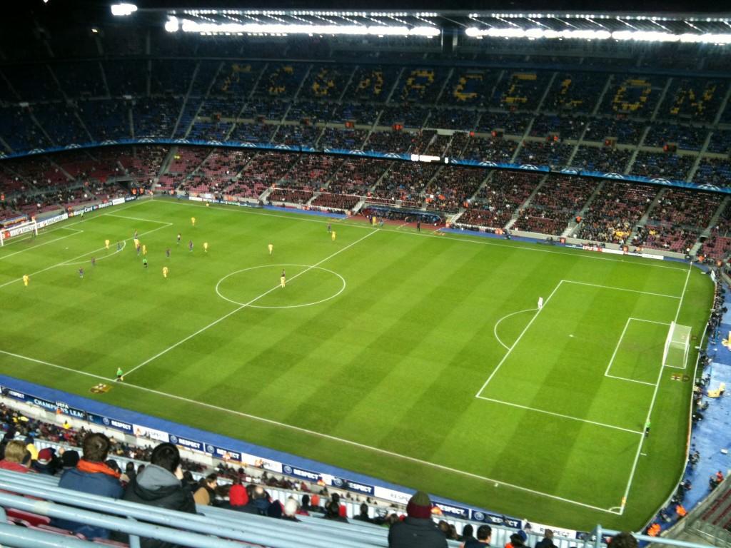 El Barça ganó 4-0
