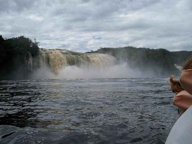 Cascadas del río Carrao.