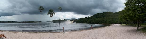 Laguna de Canaima.