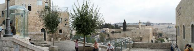 Jerusalén desde el barrio judío.