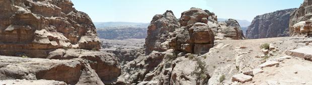 El paisaje durante la ascensión impresiona.