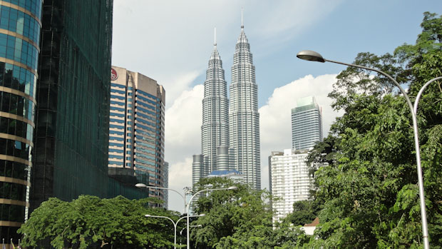Desde cualquier punto de la ciudad, las torres son el punto de referencia.