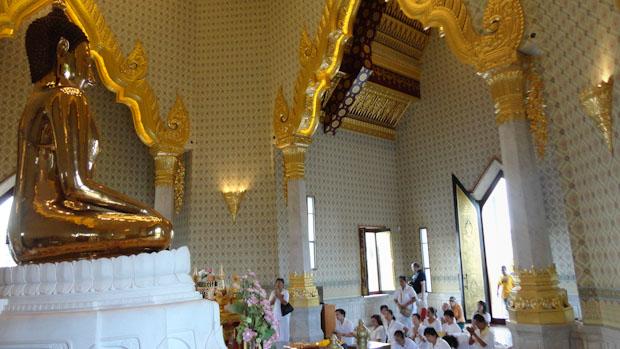 El templo está abierto al público y recibe múltimples visitas de la gente de la ciudad.
