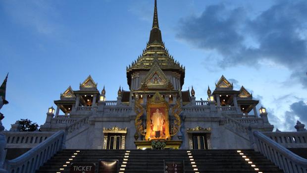 Wat Traimit, templo del buda de oro.