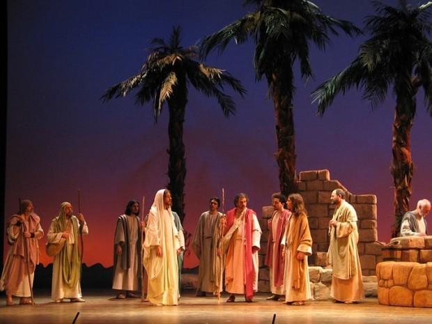 Elección de los apóstoles. (Foto: La Passió d'Esparreguera)