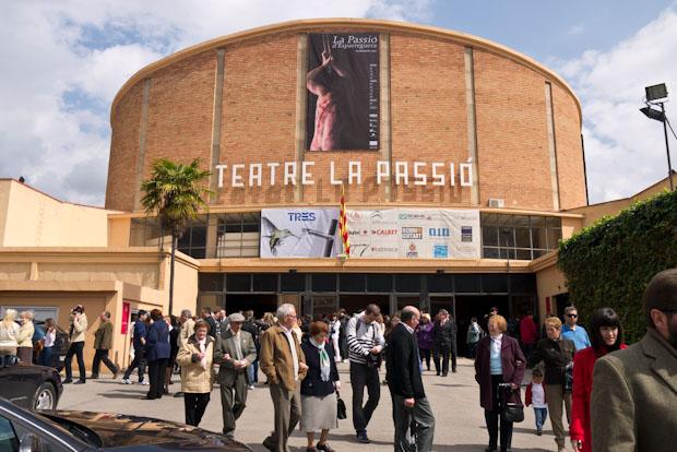 Edificio del teatro donde se hace la representación.