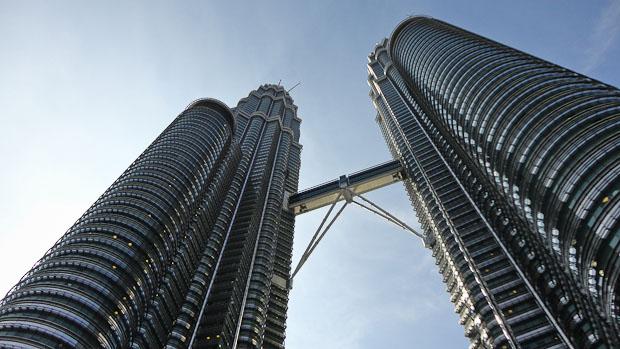 Las torres Petronas.
