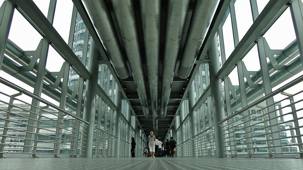 Interior del Skybridge.