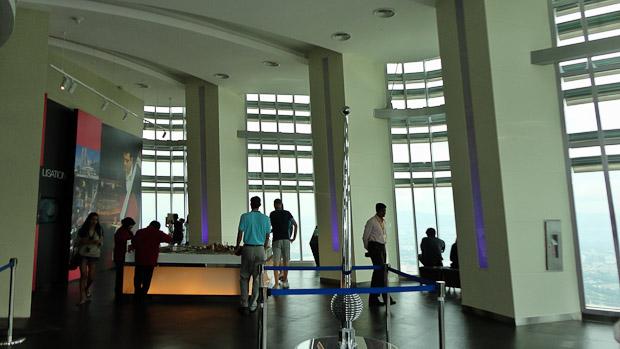 Interior del observatorio con más bien poca gracia decorativa.