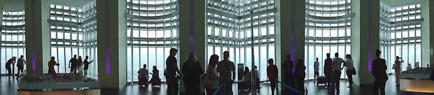 Interior del observatorio.