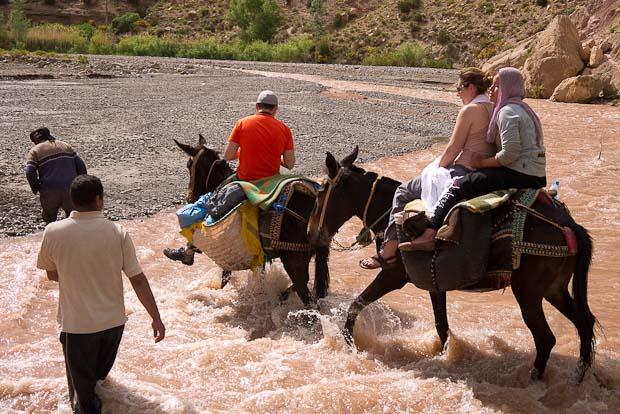 Fátima se añadió a nuestra caravana.