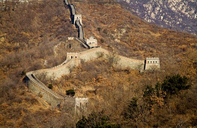 Gran Muralla, en invierno.