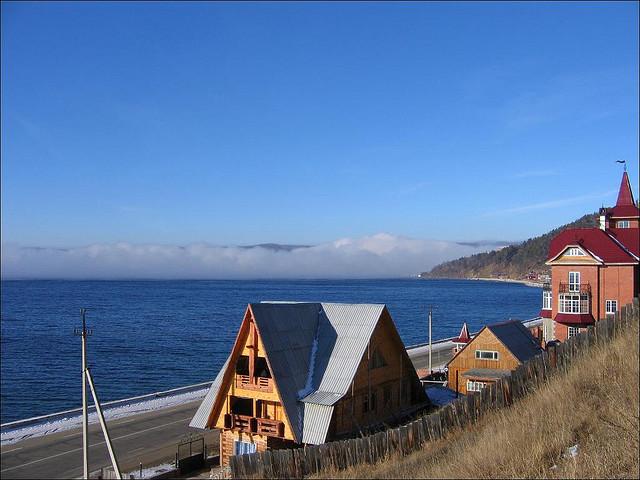Orillas del Lago Baikal.
