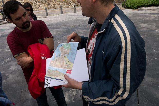 Nuestro guía con Alberto de Trivago.