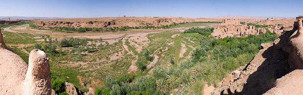 Vista del Valle de las Rosas.