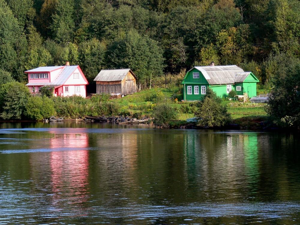 Dachas en el campo ruso (Foto: http://www.fotocommunity.es)