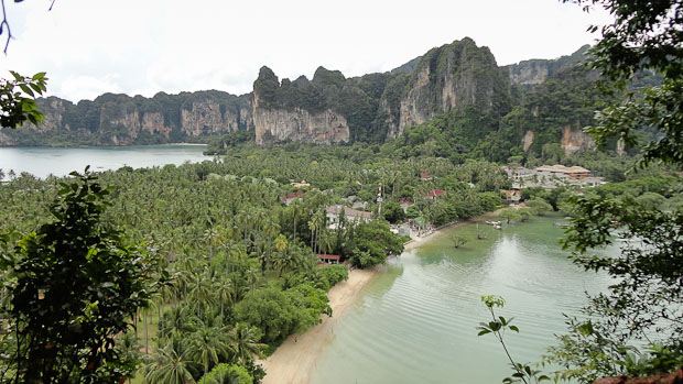 Vista de Railay.