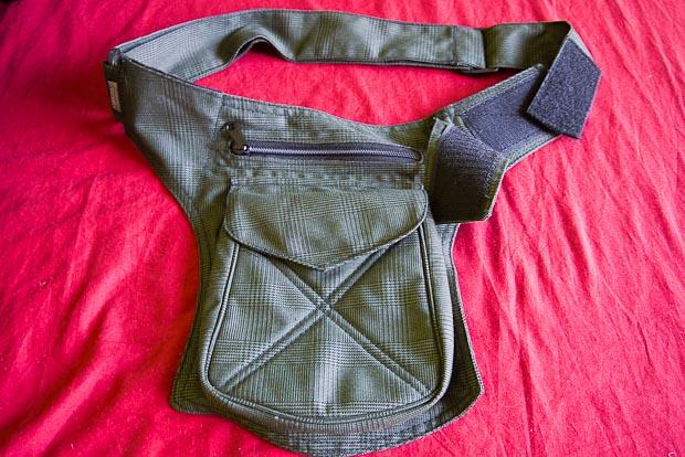 """Bolsa cinturón """"perroflauta"""" un gran descubrimiento y muy cómodo."""