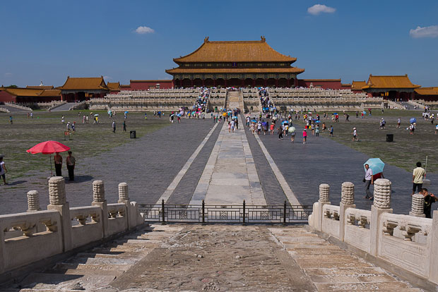 Ciudad prohibida, Pekín.