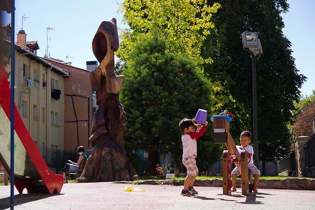 Parques y zonas infantiles siempre cerca de sus habitantes.