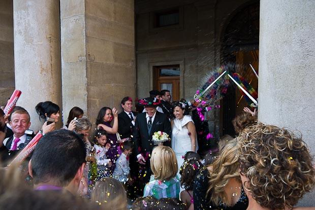 Casarse en el ayuntamiento es tradición y las bodas mezclan unas con otras.