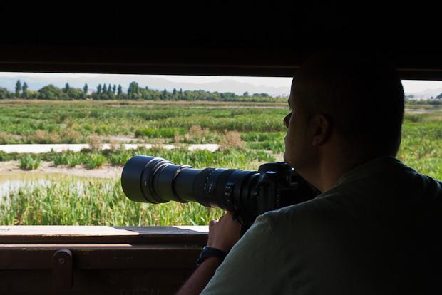 Casetas de observación sirven para acercarse a la fauna y poderla observar sin interferir.