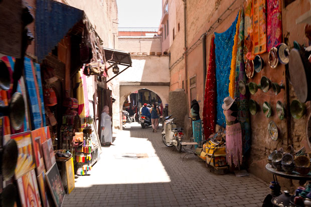 Calles de Marrakech para perderse.