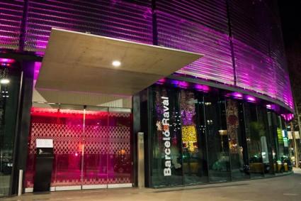Entrada del Hotel Barceló Raval - Barcelona.