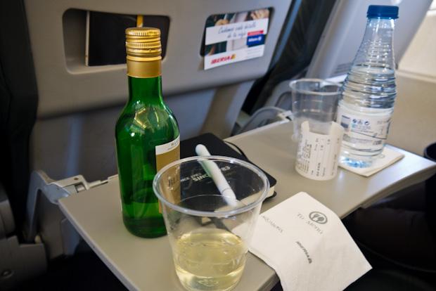 Kit de entretenimiento para no estar atento a los ruidos del avión.