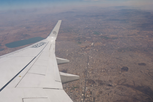 Vista de Ciudad de México DF.