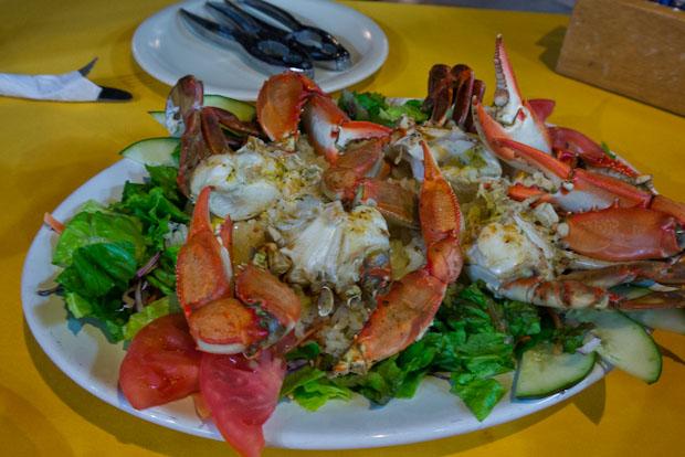 Las Jaibas (cangrejos) un plato bien rico que casi se nos pasa por alto.